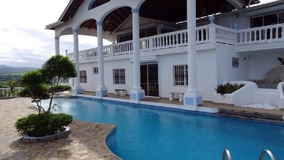 Photo for Eagle Villa Stunning Ocean View, Private Villa, Nr Beaches, Fully Staffed, Pool