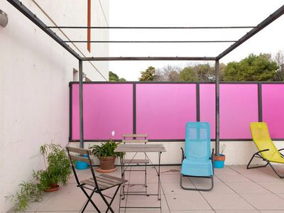 Photo for *** Bright, comfy and modern flat w. ter