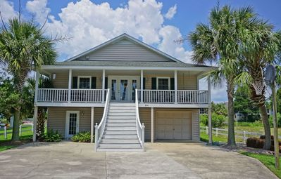 Photo for Litchfield Beach House on the Creek with Private Dock - The Family Channel