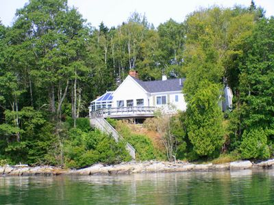 Photo for Wonderful Waterfront Home with Stunning Easterly Views of Harpswell Sound