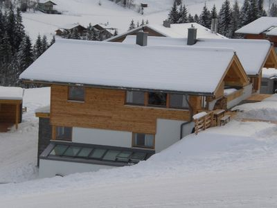 Photo for House w/panorama view, in the skiing area Dachstein West, directly on the slopes