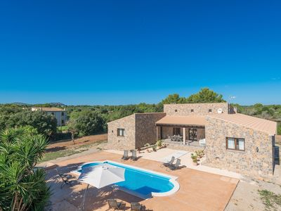 Photo for BELLPUIG 4 - Villa with private pool in Artà.