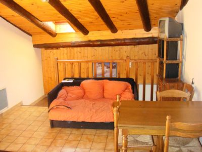 Photo for Apartment 6 pers. 5 mins from the chairlift du roi - 3 room flat 6 people