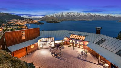 Photo for Jaw dropping mountain and lake views | Private and Luxurious | Outdoor living