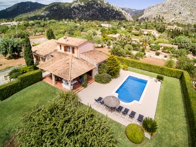 Photo for Villa Royal for 8 guests, only 1.4km to Pollensa and 6km to the beach!
