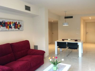 Photo for modern and comfortable apartment in Rosas 150 meters from the beach, wifi