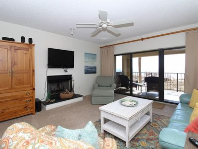 Photo for Shipwatch D201- Beach Front Views from Terrace with Luxurious Interior!