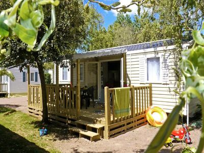 Photo for Camping Brandais *** - Mobile Home 5 Rooms 8 People
