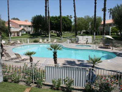 Photo for SUNNY UPSCALE 2 BDR POOLSIDE CONDO WITH MOUNTAIN VIEWS