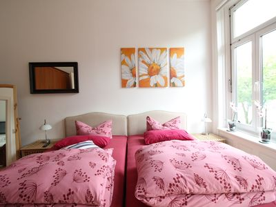 Photo for ApartTop Apart. | 85sqm old building with balcony | St. Georg | free Wi-Fi