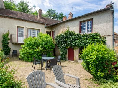 Photo for Beautiful Holiday Home in Hérisson with Private Garden