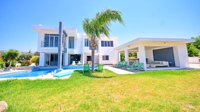 Photo for Exceptional Large Villa Offering Private Pool, Sea Views & Luxury