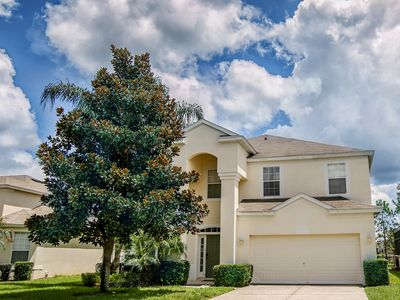 Photo for *Special Deals! FROZEN Bedroom. Closest To Disney 6BR/4BA Pool No Rear Neighbors