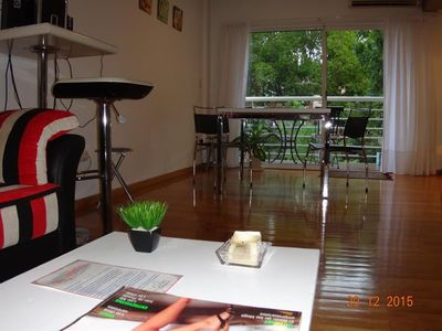 Photo for Apartment in Buenos Aires with Air conditioning, Lift, Terrace, Washing machine (398415)