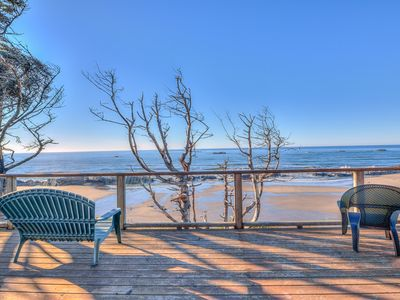 Photo for Magnificent Oceanfront Home with Incredible Ocean Views, Truly One of a Kind