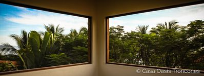 Some panoramic views from the crow's nest loft master bedroom — Casa Oasis