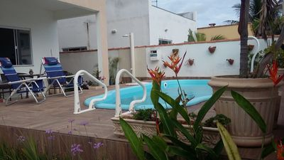 Photo for House with pool, in Arraial do Cabo, between the Lagoon and the Sea, with all comfort.