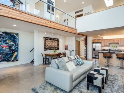 Photo for EyeCandy Loft has a contemporary modern design with Santa Fe style