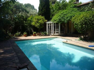 Photo for RARE, 2 STEPS FROM THE PORT VILLA OF CHARACTER ON 1200M ² OF LAND, POOL
