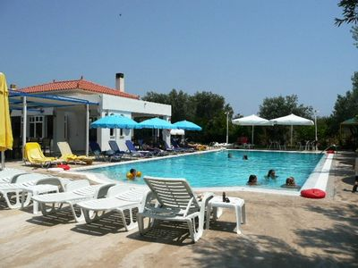 Swimming pool and taverna, 800m from the house.