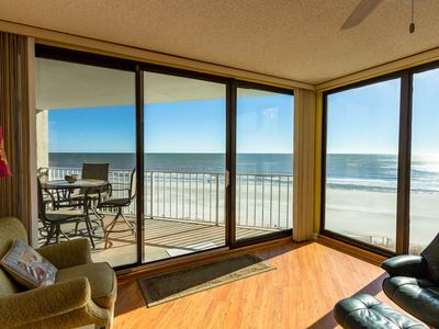Photo for 3rd Floor Oceanfront, One Ocean Place Luxury - Free Water Park, Aquarium, Golf & More Every Day!