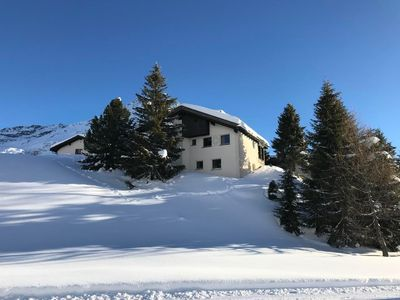 Photo for Holiday apartment Maloja for 4 persons with 2 bedrooms - Holiday apartment in a two family house