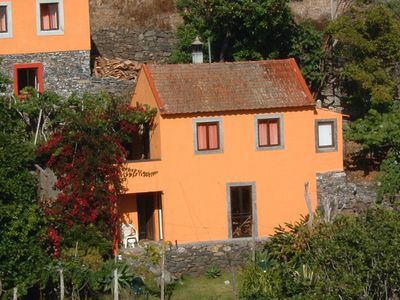 Photo for Ocean views, a traditional Madeira house with fireplace in the vineyard - uniqueness