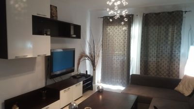 Photo for Beach front one bedroom apartment in los cristianos, satellite tv and balcony
