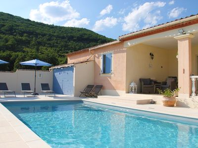Photo for 3 bedroom villa with indoor pool, countryside views