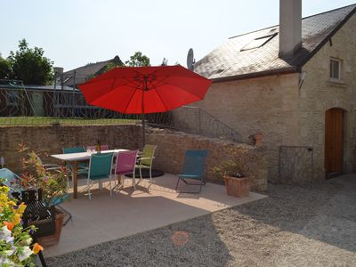 Photo for Charming house, 3 stars *** 6 people, 3 minutes from Arromanches and beaches