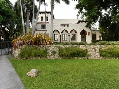 Photo for Historic and Gated 12BD/7.5BA Villa In Coconut Grove - Sleeps 24 - RCG1299