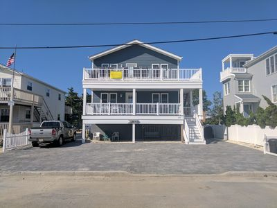 Photo for Surf City NEW  3BR Duplex (1st Fl) - Steps to Kid Friendly Bay Beach 3 to Ocean
