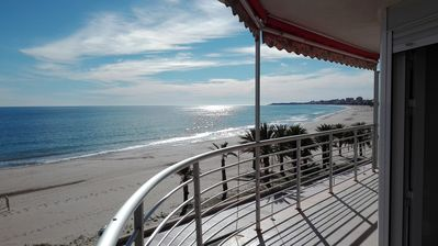 Photo for 2-6 People FRONT LINE PLAYA DE SAN JUAN - One of the best beaches of Spain-