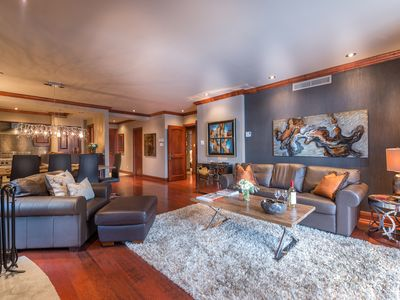 Photo for Mont Tremblant, Pedestrian Village, 3 Bedroom Luxury 4 Star Bondurant Condo,