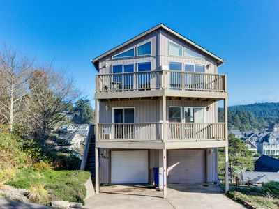 Photo for Great oceanfront getaway w/ amazing ocean view & easy beach access!