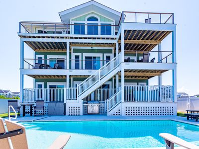 Photo for C0645 Seaside Dunes. Oceanfront, Direct Beach Access, Pool, Hot Tub, Elevator
