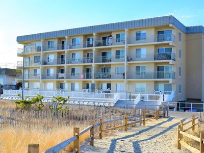 Photo for BEACH FRONT CONDO WITH A VIEW!  INTERNET, A/C & MORE!!! BOOK TODAY!