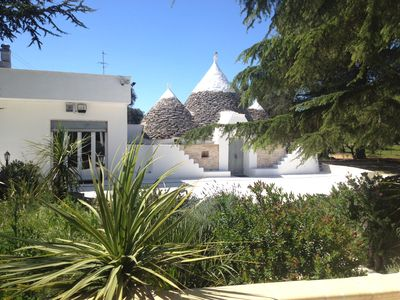 Photo for Delightful trullo set in it's own olive grove with free WiFi and private pool