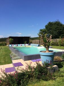 Photo for Property without vis-à-vis 10 km from Vannes center and 3 km from Grand Champ ........