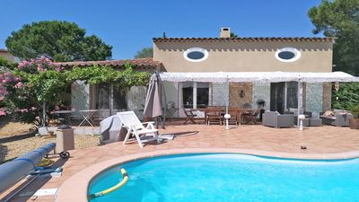 Photo for Villa T6 - 8 people - Private pool - Air conditioning - WiFi - Sainte Maxime