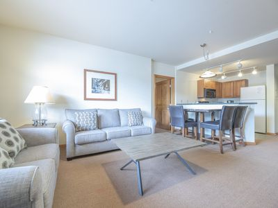 Photo for Ski in/Ski out 2 bedroom at the Zephyr Mountain Lodge. Sleeps 6 to 8!