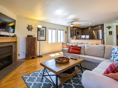 Photo for 20% OFF Apr 1st-17th -Gorgeous Beach Condo, Walk to Ocean, Dining, Pier+Shops