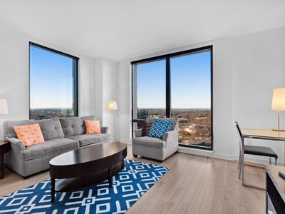 Photo for Reston Town Center | Artistic 2 Bedroom Apartment | by GLS