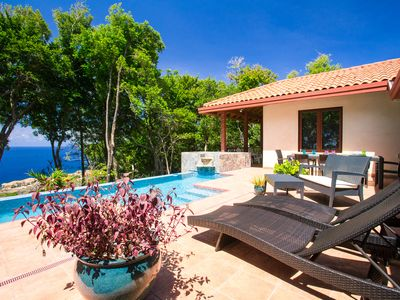 Photo for Spectacular Villa in West Bay: Caribbean Views, Pool, & Incredible Kitchen!