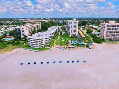 Photo for Fantastic Beachfront Condo on Beautiful Siesta Key Beach ranked #1 Beach in U.S.