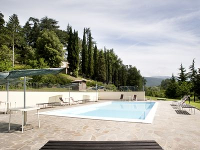 Photo for Ferdinando Apartment with swimming pool in the Parco Della Nave Botanical Park