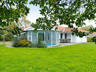 Photo for Voluminous Holiday Home in Juelsminde with Sauna