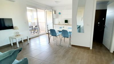 Photo for New apartment, fully equiped, 70 m from beach, sea view