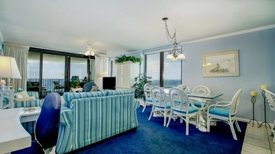 Photo for Glorious Gulf Coast Views From This 15th Floor Unit With Spacious Balcony