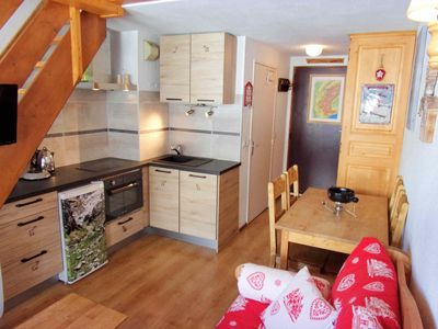 Photo for Duplex with 2 bedrooms in Tignes, ski in / ski out, family area